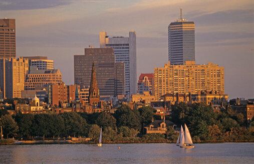 Boston, Skyline, USA - HS00840