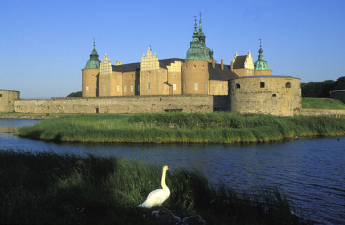 Castle of Kalmar in Sweden - 00774HS