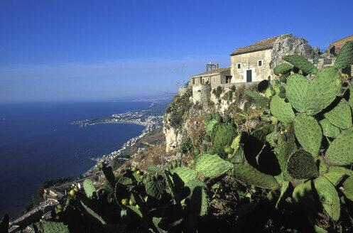 View from Castelmola to Taormina, Sicily, Italy - 00606HS