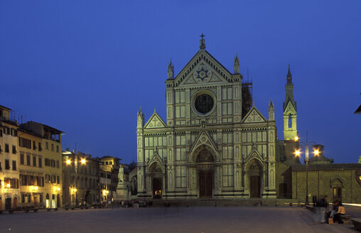 St. Croce, Florence, Italy - 00385HS