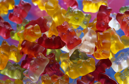 Jellybabies, traditional German sweety, extreme close-up - AS01106
