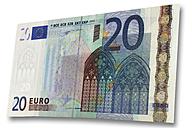 Euro bank note - 01030CS-U