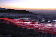 Tansania - Soda lava at dusk - RM00024