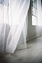 Blowing white curtain - 00029MN