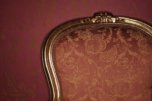Ornate antique armchair, close-up - BMF00195
