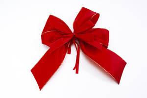 Red bow, close-up - 09524CS-U