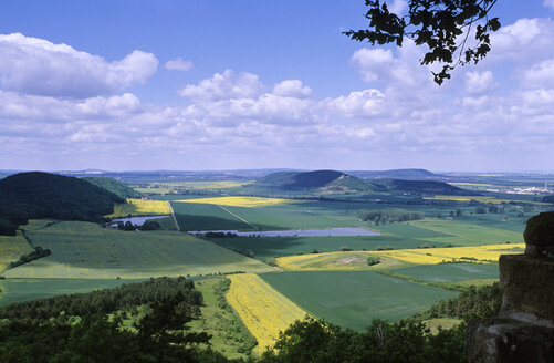 View from the Wachsenburg near Arnstadt, Thuringia, Germany - MSF01699