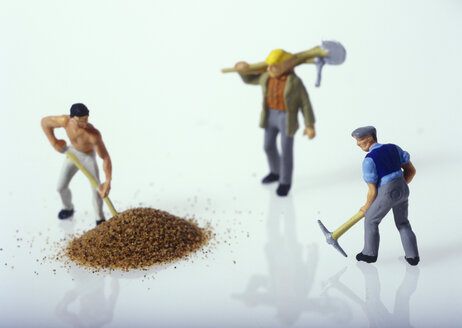Figurines of construction workers - TH00163