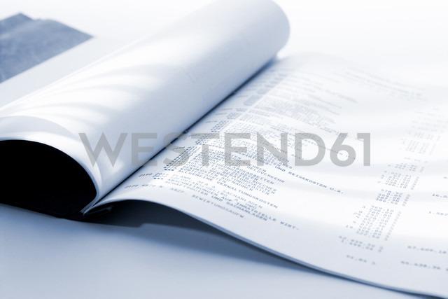 Ledger book, close-up - 02797CS-U