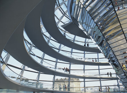 Germany, Berlin, Reichstag Dome - NH00038