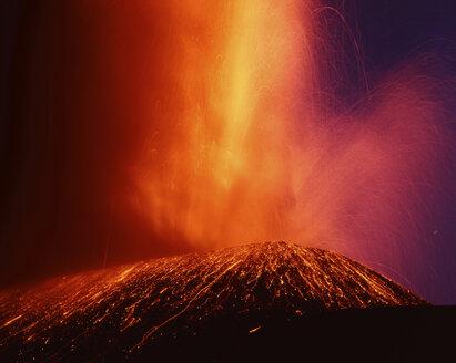 Italy, Aetna, Volcanic eruption - 00014RM