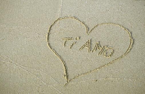 Heart in sand, ti amo - MOF00071