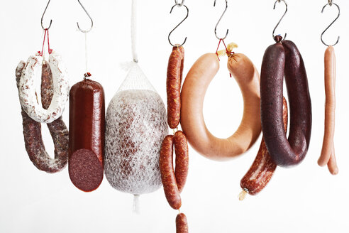 Sausages hanging on hooks - 03103CS-U
