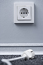Electric plug and socket (focus on socket) - HOEF00051