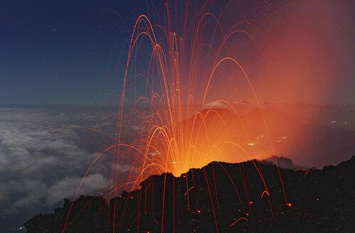 Guatemala, Fuego volcano - RM00102