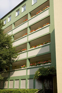 Building exterior, low angle view - MB00580