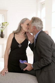 Mature couple kissing - WESTF01961