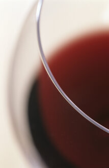 Glass of red wine, detail - COF00014
