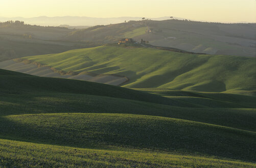 Italy, Tuscany, homestead in landscape - HSF00980