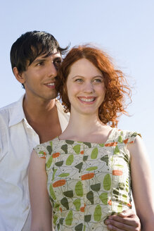 Young couple, smiling - LDF00220