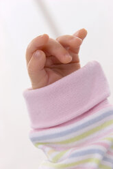 Hand of baby, close-up - SMOF00077