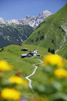 Colony in austrian alps (Walsersiedlung) - MRF00685