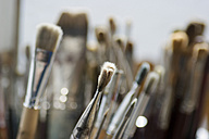 Various paint brushes, close-up - DWF00019
