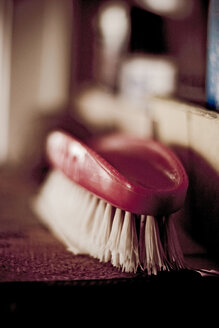 Nail brush. close-up - DW00029