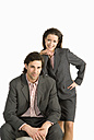 Businessman and businesswoman - WESTF04687