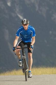 Racing cyclist on  way - MRF00883