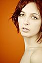 Portrait of a redheaded woman - DW00088