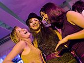 Three girls on party - KMF00914