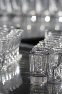 Empty shot glasses, close-up - TLF00084