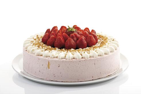 Strawberry-cream cake, close-up - 06774CS-U