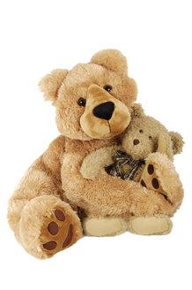 Two teddy baers, close-up - 00294LR-U
