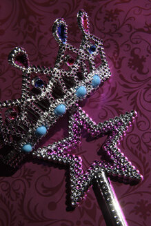 Star an crown-shaped costume jewellery - TL00136