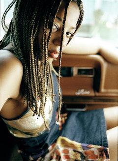 Colored woman, portrait - PK00207