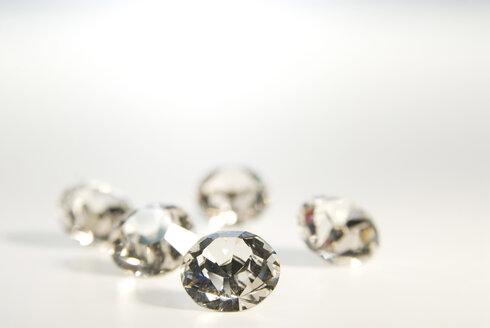 Fake diamonds, close-up - NHF00564