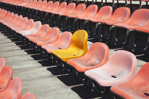 Empty Stadium Seats - TCF00110