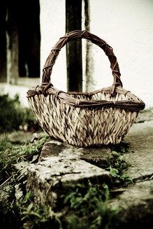 Wicker Basket, close-up - DW00138