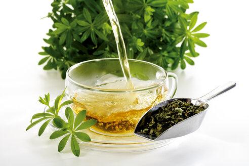 Woodruff and woodruff tea, close-up - 07280CS-U