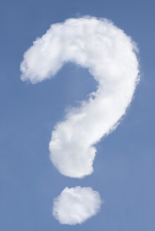 Question mark-shaped cloud - MUF00001