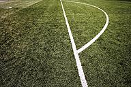 Penalty area marking on soccer field - 07756CS-U