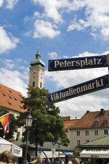 Germany, Bavaria,Munich, Viktualienmarkt - 07951CS-U