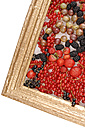 Variety of berries in picture frame - 00347LR-U