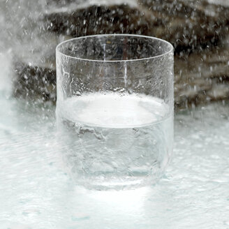 Glass of water, close-up - CHK00877