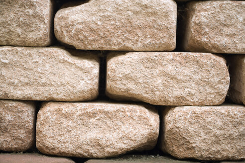 Stone wall, close-up - HKF00114