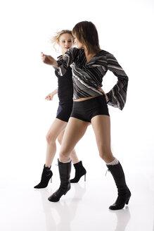 Young women dancing - RRF00142