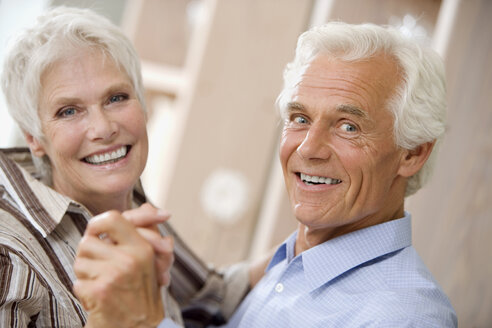 Senior couple dancing - HKF00215
