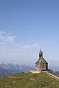 Germany, Bavaria, Wallberg, chapel - UMF00192